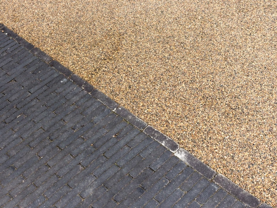 Gravel and Patio driveway
