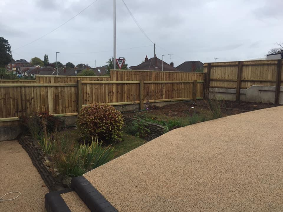New Fencing Weymouth