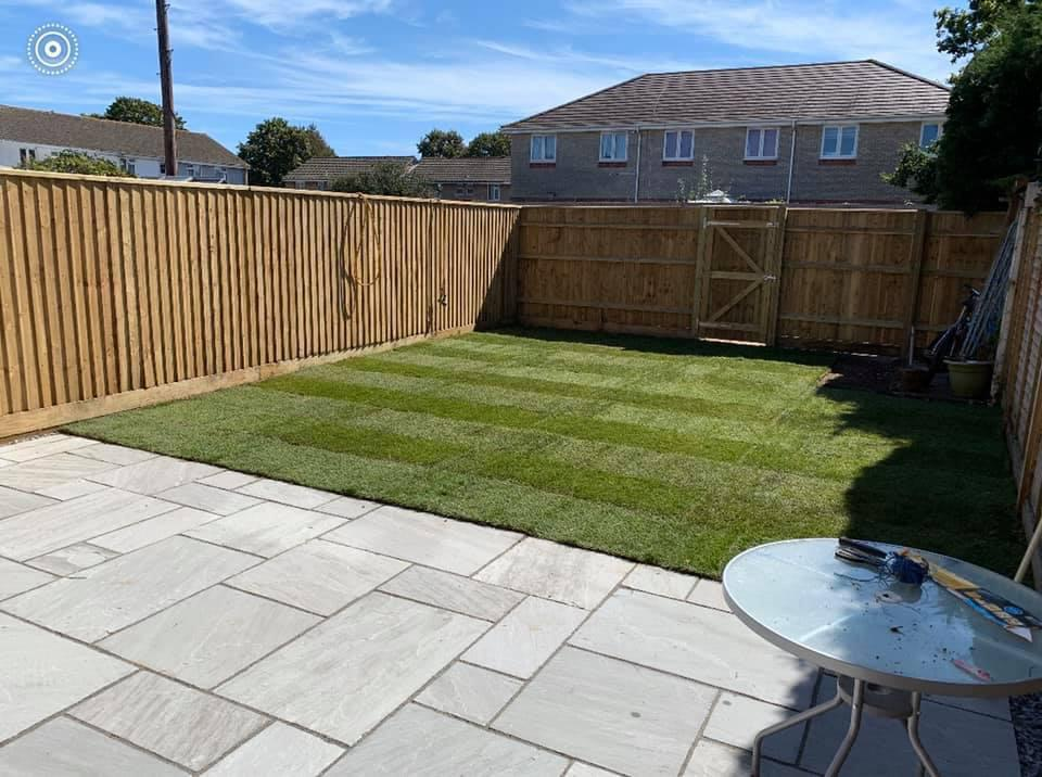 Fencing and New Lawn Weymouth